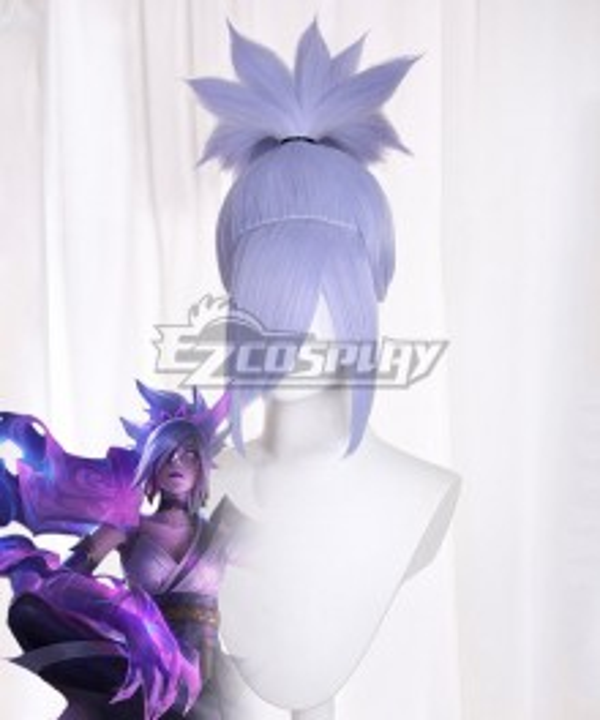 League of Legends LOL Spirit Blossom Riven Purple Cosplay Wig