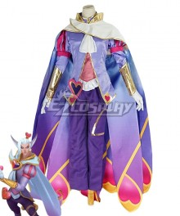League Of Legends LOL The Charmer Sweetheart Rakan Cosplay Costume