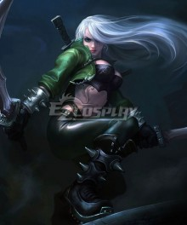 League Of Legends Mercenary Katarina the Sinister Blade Cosplay Costume