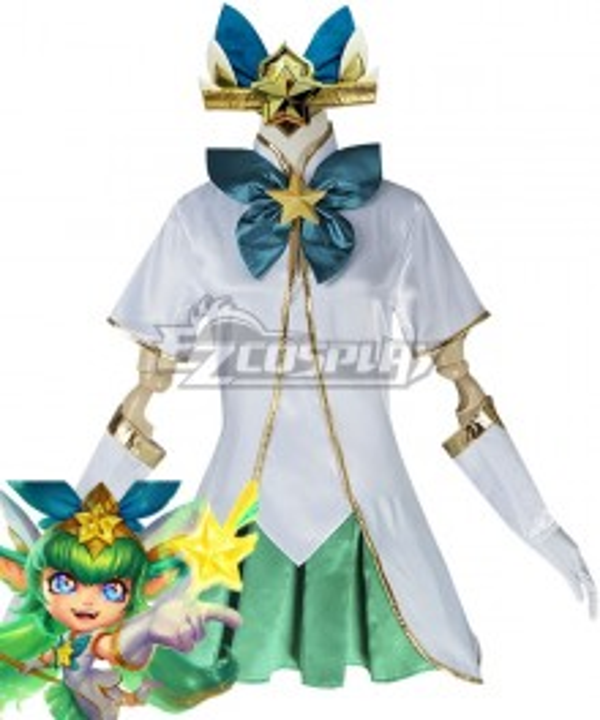 League of Legends LOL Star Guardian Lulu Cosplay Costume