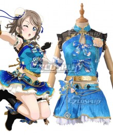 Love Live! Sunshine!! China Dress Ver You Watanabe Cosplay Costume