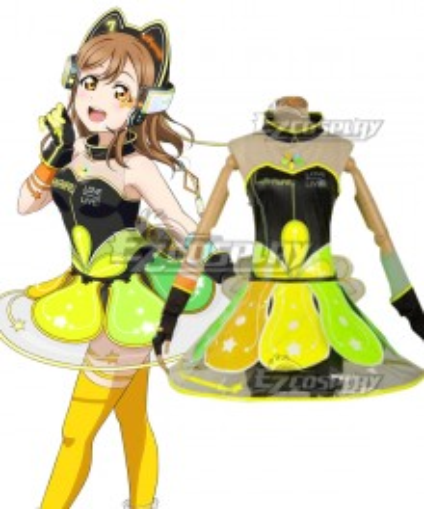 Love Live! lovelive! sunshine!! Cyber Idolized Gaming Game Awaken Hanamaru Kunikida Cosplay Costume