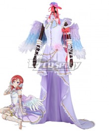 Lovelive! Love Live! White Day  Maki Nishikino Cosplay Costume