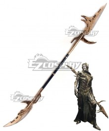 Marvel Avengers 3: Infinity War Corvus Glaive Spear Cosplay Weapon Prop