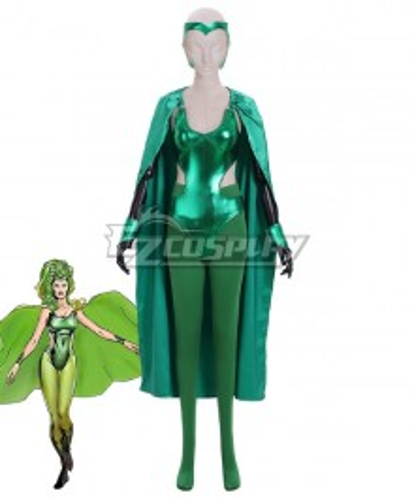 Marvel Comics The X-Men Polaris Lorna Dane Cosplay Costume