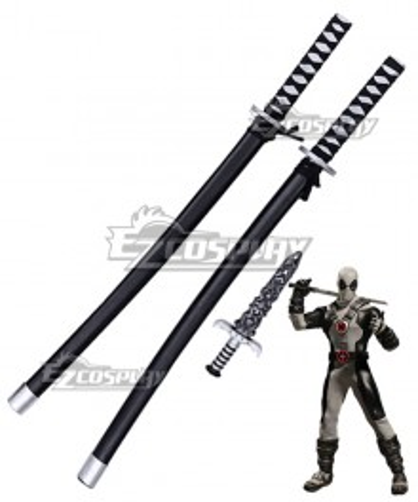 Marvel Comics X-Force Deadpool 2 Wade Wilson Cosplay Weapon Prop