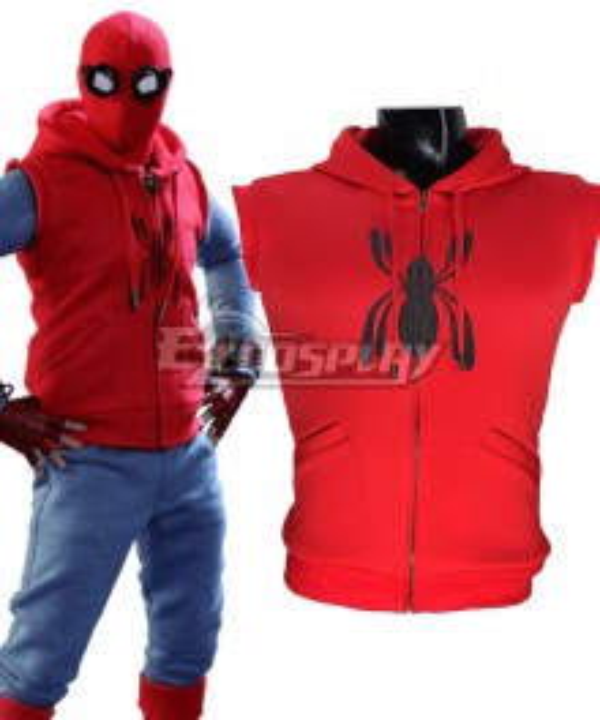 Marvel Spiderman Spider-Man:Homecoming Spider-man Spider Man Superhero Peter Parker Cosplay Costume Only Vest