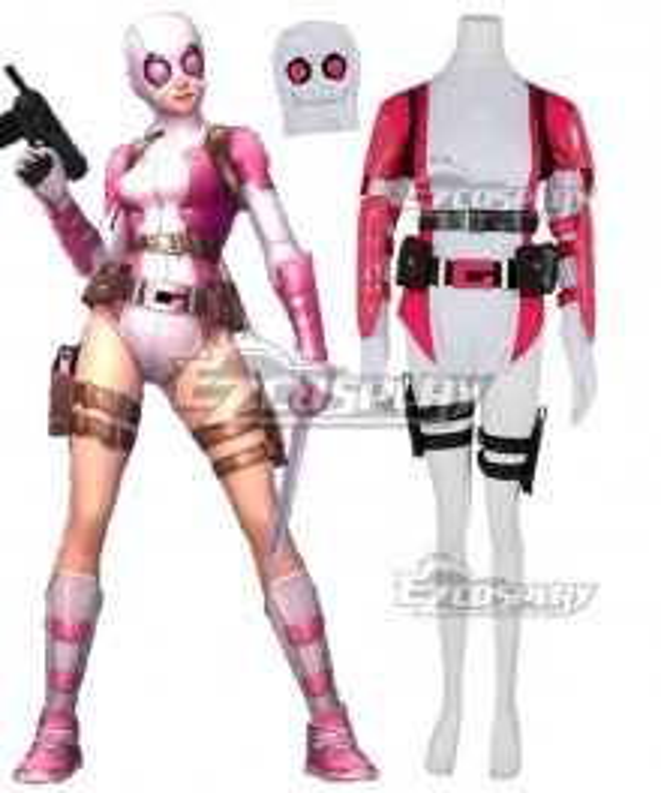 Marvel Superhero Gwenpool Cosplay Costume - No Mask
