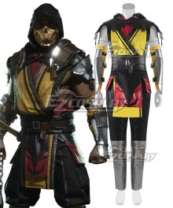 Mortal Kombat 11 Scorpion Cosplay Costume