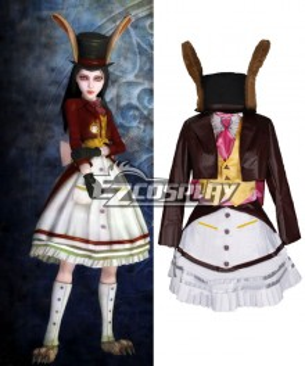 Alice: Madness Returns Alice Lucky Rabbit Utimate Cosplay Costume