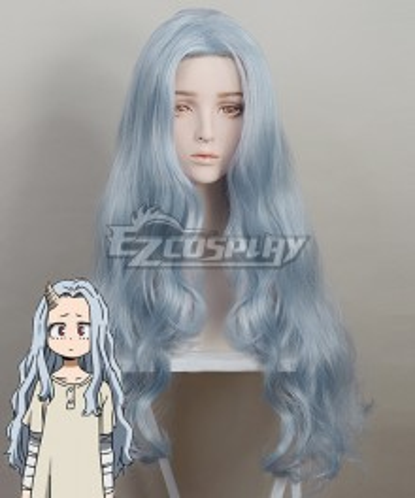 My Hero Academia Boku no Hero Akademia Eri Blue Grey Cosplay Wig