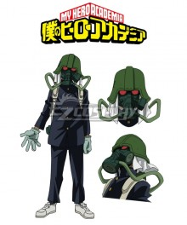 My Hero Academia Boku no Hero Akademia Mustaro Cosplay Costume