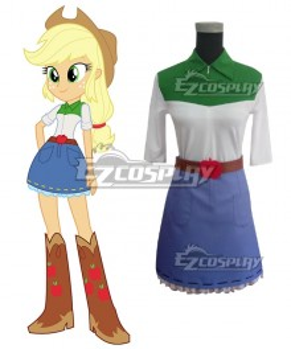 My Little Pony Equestria Girls Applejack Cosplay Costume