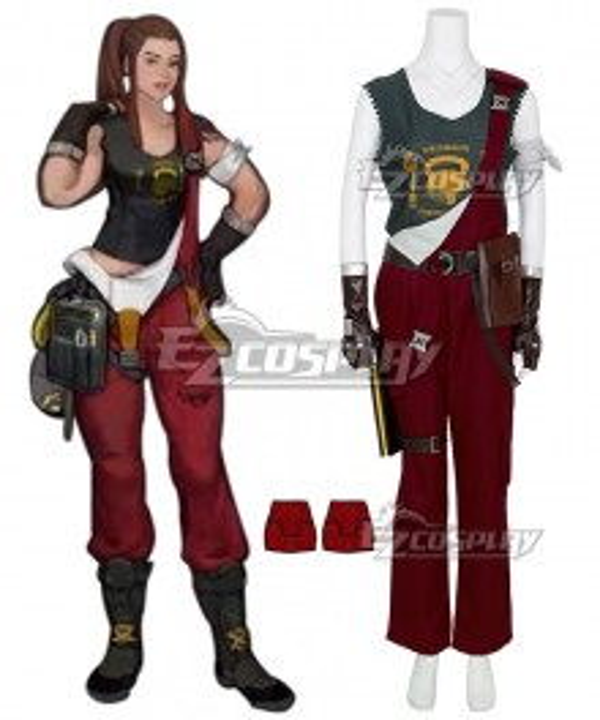 Overwatch OW Brigitte Cosplay Costume