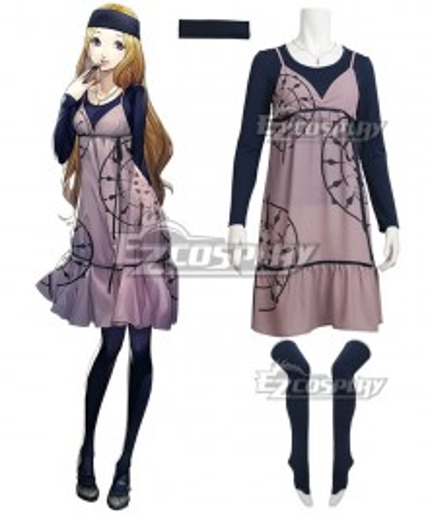 Persona 5 Chihaya Mifune Cosplay Costume