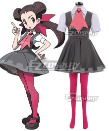 Pokémon Omega Ruby and Alpha Sapphire Roxanne Cosplay Costume