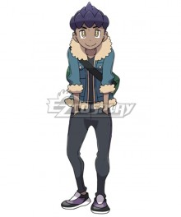 Pokemon Pokémon Sword And Pokémon Shield Rival Hop Cosplay Costume