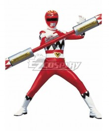 Power Rangers Lost Galaxy Galaxy Red Cosplay Costume