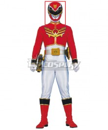 Power Rangers Megaforce Megaforce Red Helmet Cosplay Accessory Prop