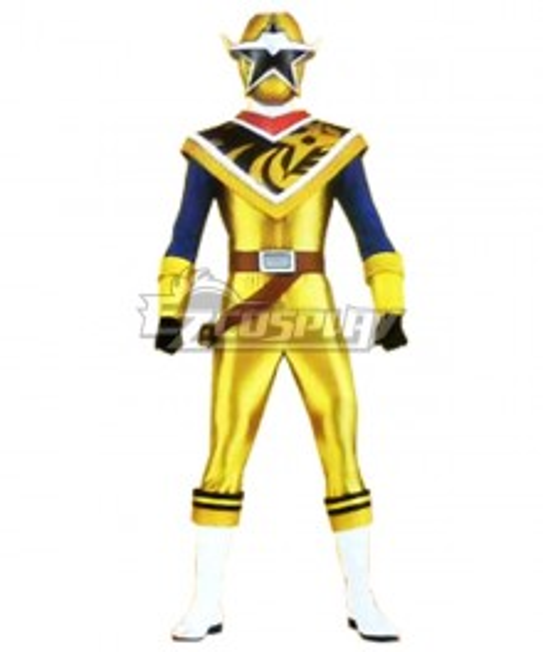 Power Rangers Ninja Steel Ninja Steel Gold Cosplay Costume
