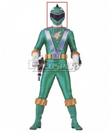 Power Rangers RPM Ranger Operator Series Green Helmet Cosplay Accessory Prop