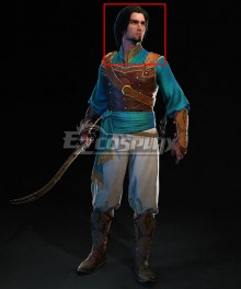 Prince of Persia: Sands of Time Remake Prince Black Cosplay Wig