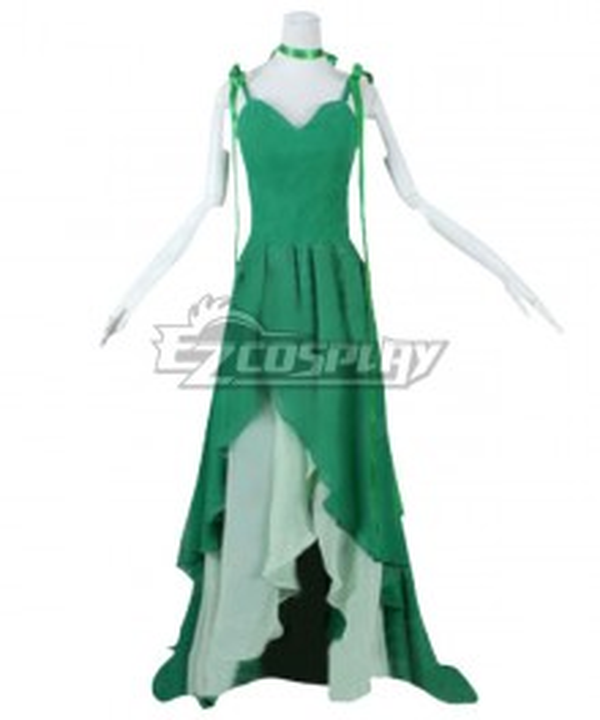 Sailor Moon Makoto Kino Sailor Jupiter Princess Dress Cosplay Costume