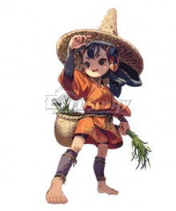 Sakuna: Of Rice and Ruin Sakuna Cosplay Costume