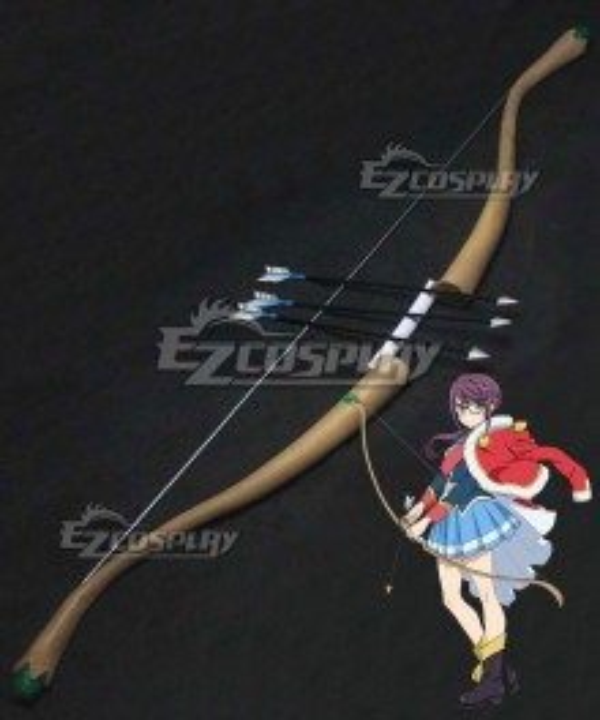 Shoujo Kageki Revue Starlight Junna Hoshimi Bow Arrow Cosplay Weapon Prop