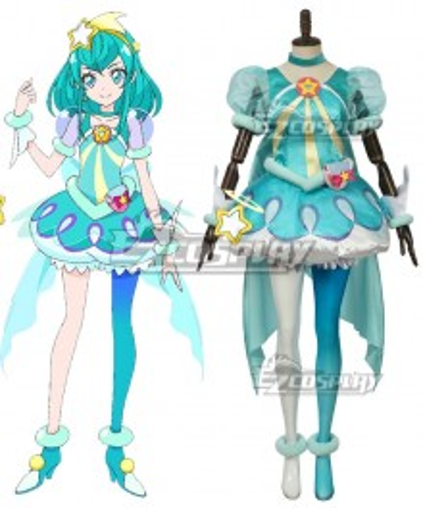 Star Twinkle PreCure Cure Milky Hagoromo Lala Cosplay Costume