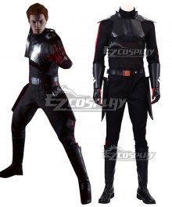 Star Wars Jedi: Fallen Order Cal Kestis Black Cosplay Costume