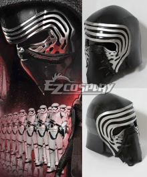 Star Wars VII The Force Awakens Kylo Ren Helmet Cosplay Prop