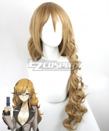Steins;Gate Steins Gate Moeka Kiryu Brown Cosplay Wig