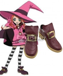 Fate Grand Order FGO Archer Osakabehime stage 3 Purple Cosplay Shoes