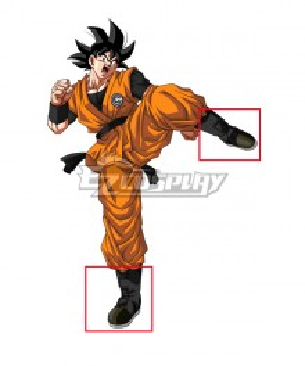 Super Dragon Ball Heroes Son Goku Kakarott Black Cosplay Shoes