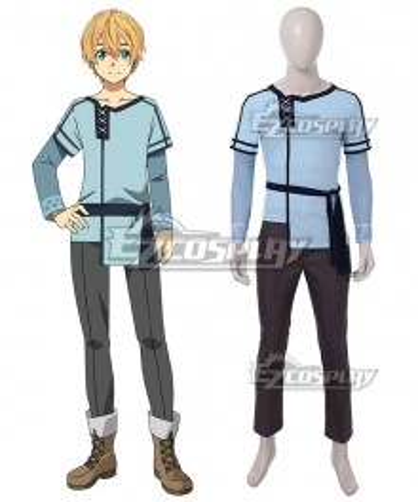 Sword Art Online Alicization SAO Eugeo Cosplay Costume - A Edition