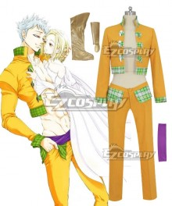 The Seven Deadly Sins Nanatsu No Taizai Ban Cosplay Costume