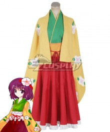 Touhou Project Hieda no Akyuu Cosplay Costume