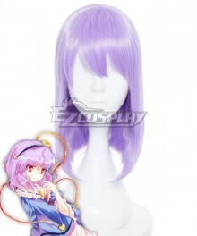 Touhou Project Komeiji Satori Purple Cosplay Wig
