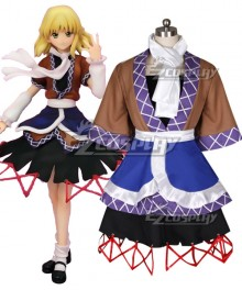 Touhou Project Mizuhashi Parse Cosplay Costume