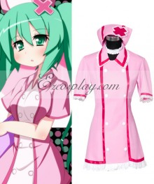 Vocaloid Nurse Miku Cosplay Costume
