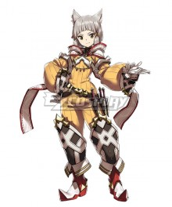 Xenoblade Chronicles 2 Nia Cosplay Costume
