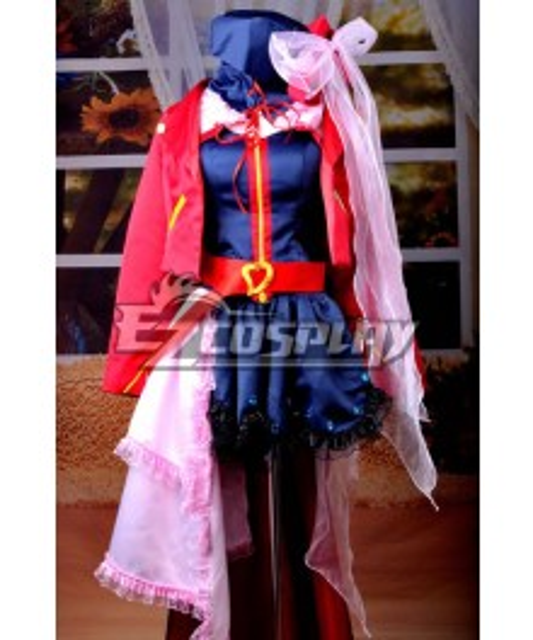 Macross Frontier Sheryl Nome Wish of Valkyria Ver. Cosplay Costume Deluxe
