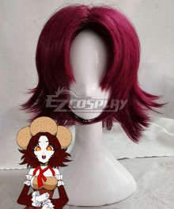 Your Turn To Die Mai Tsurugi Purple Cosplay Wig