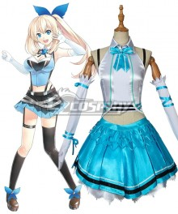 YouTuber AI Mirai Akari Cosplay Costume Premium Edition