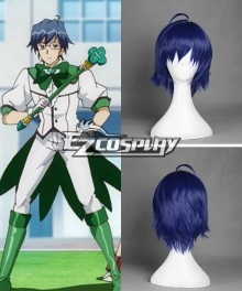 Cute High Earth Defense Club LOVE! Atsushi Kinugawa Cosplay Wig - 367C