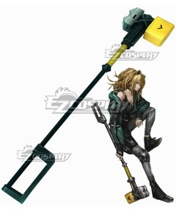 Arknights Siege Vitafield Hammer Cosplay Weapon Prop