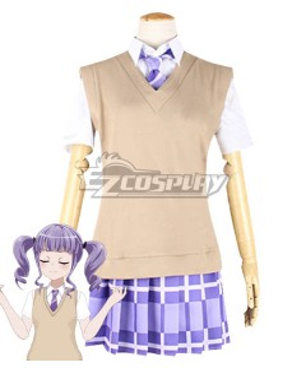 BanG Dream! Udagawa Ako Summer Uniform Cosplay Costume