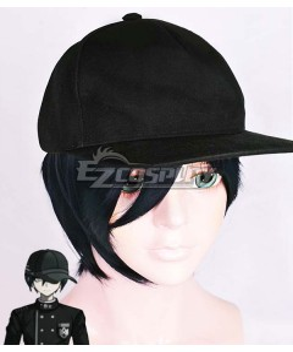 Danganronpa V3: Killing Harmony Shuichi Saihara Black Blue Cosplay Wig - Only Wig