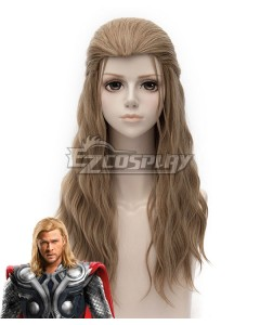 Marvel Avengers Age of Ultron Thor Odinson Light Brown Cosplay Wig